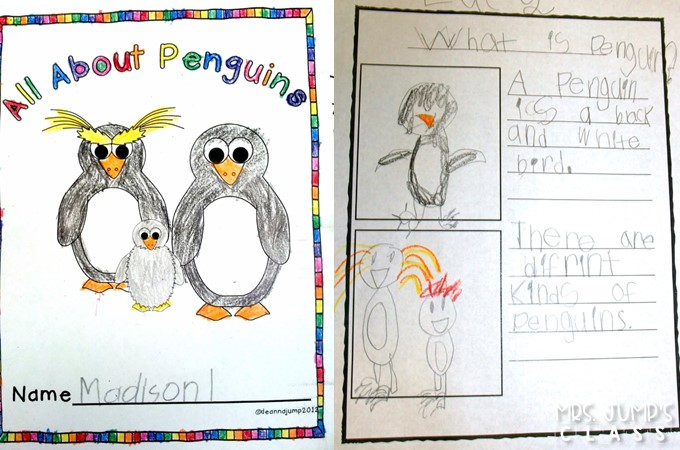 All about penguin lesson plan ideas for kindergarten and first grade. Reading, math, crafts, and anchor charts to help teach your students about penguins! Free file included