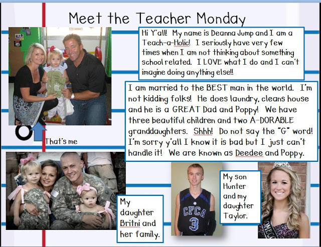 Meet the Teacher Monday