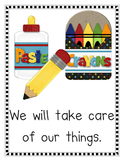 Classroom Rules and Misc. Freebies
