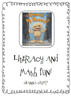 Where's My Mummy? Literacy and Math Fun