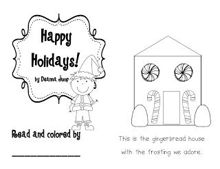 Happy Holidays FREE emergent reader
