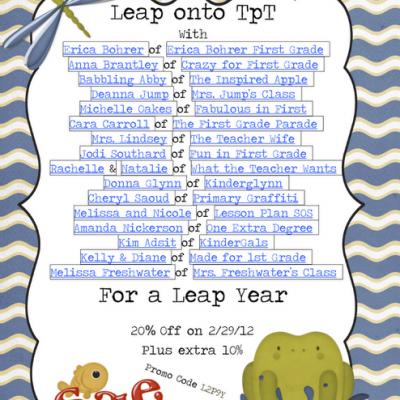 TPT Leap Day Sale