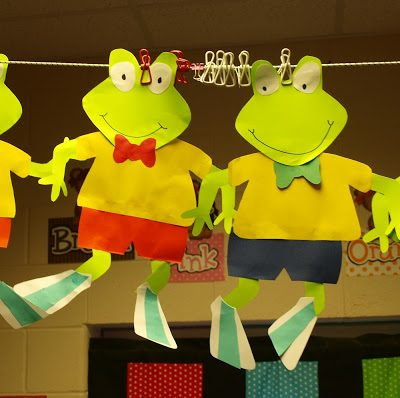 Froggy Fun! Surely A class favorite!
