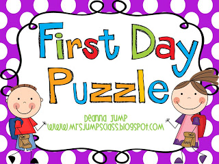 First Day Puzzle Freebie!