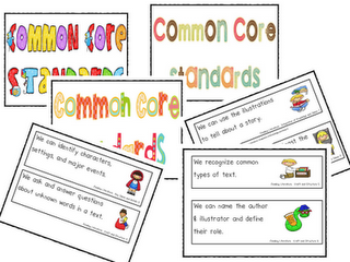 Common Core Standards Organization and Wishy Washy!