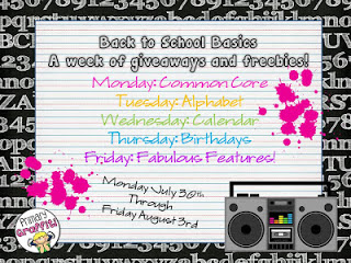 Back to School Basics Week of Giveaways and Freebies