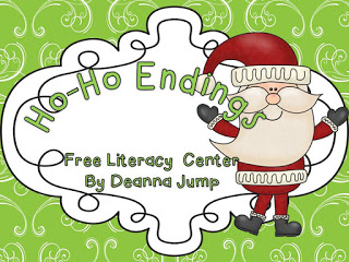Ho-Ho Literacy and Math Freebie and a SALE!