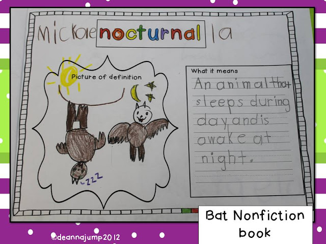 Bats Math and Literacy Fun