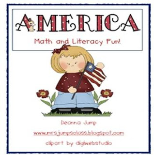 America Math and Literacy Unit