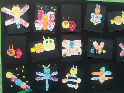 Insects Eric Carle style!