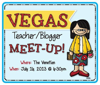 Vegas! Teacher/Blogger Meet-Up!