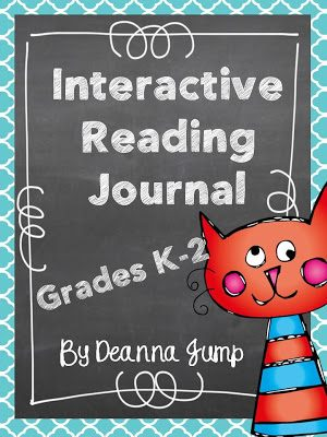 Interactive Reading Journal for K-2 Common Core Coming Soon and the first week of school!