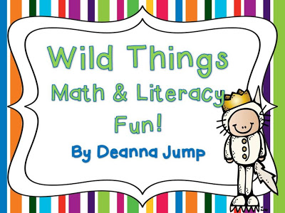 Wild Things Math & Literacy Fun