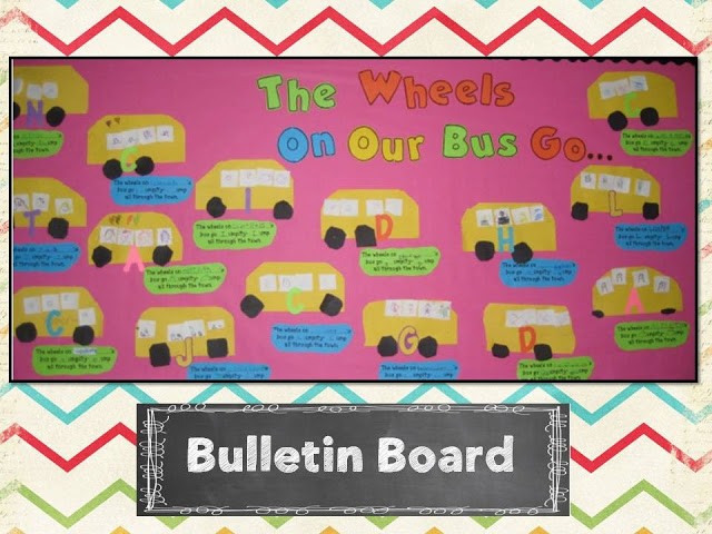 Phonemic Awareness and Phonics Fun FREEBIE! The Wheels on the Bus class book