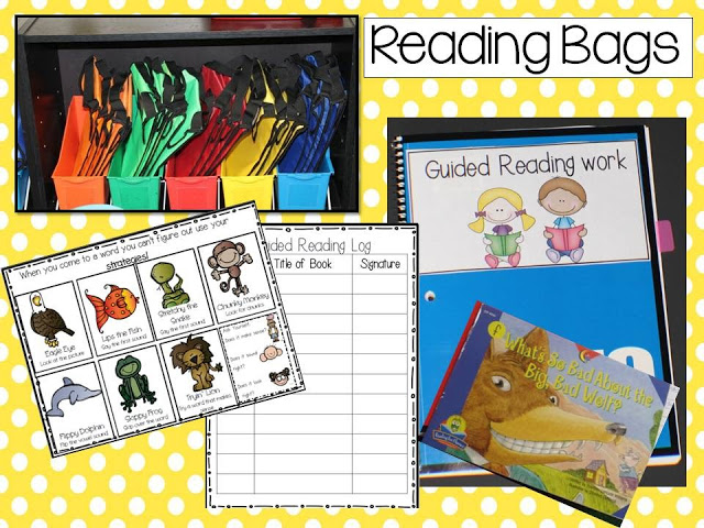 Guided Reading 101 in kindergarten and 1st grade!