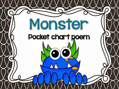 Monster Poem FREEBIE!