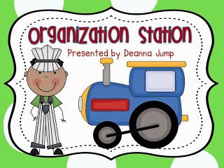 Organization station by Deanna Jump