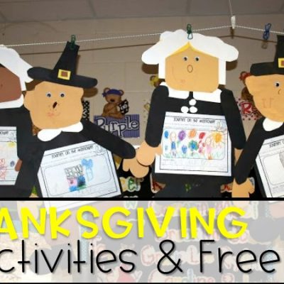 Activities for Thanksgiving (Free File)