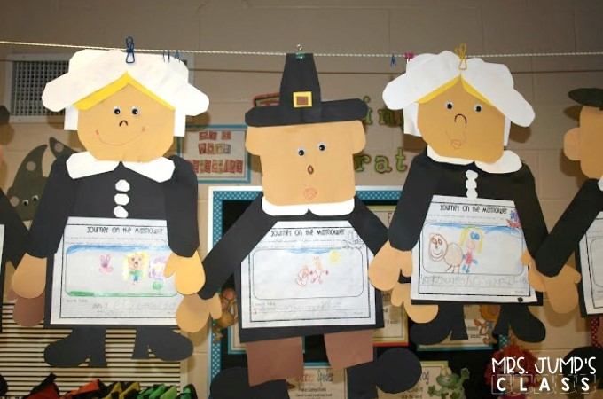 Kindergarten Thanksgiving Activities FREE files are included in this blog post. Writing and social studies for November!