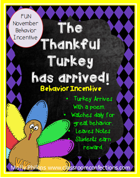 Thankful Turkey Winners