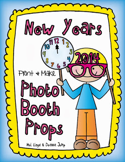 New Year Photo Booth Prop Freebie
