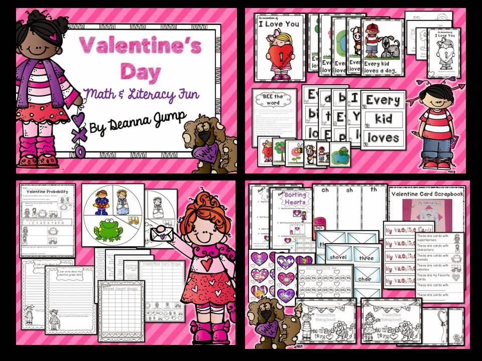 Valentine's Day Centers! Love, Tweet Love!