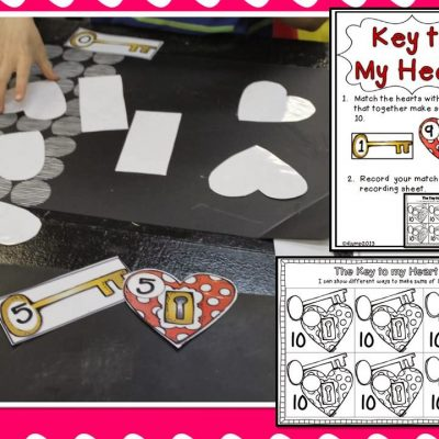 Valentine's Day Centers! Love, Tweet Love!