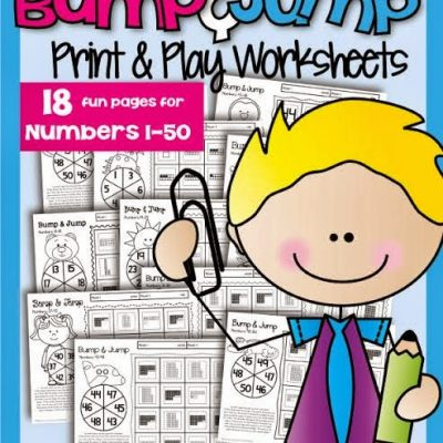 Bump & Jump Numbers and Update on Nonfiction Interactive Journal (FREEBIE)