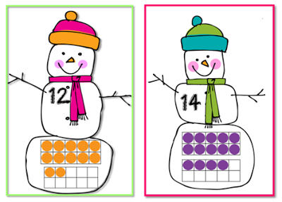 Sneezy the Snowman unit and Freebie