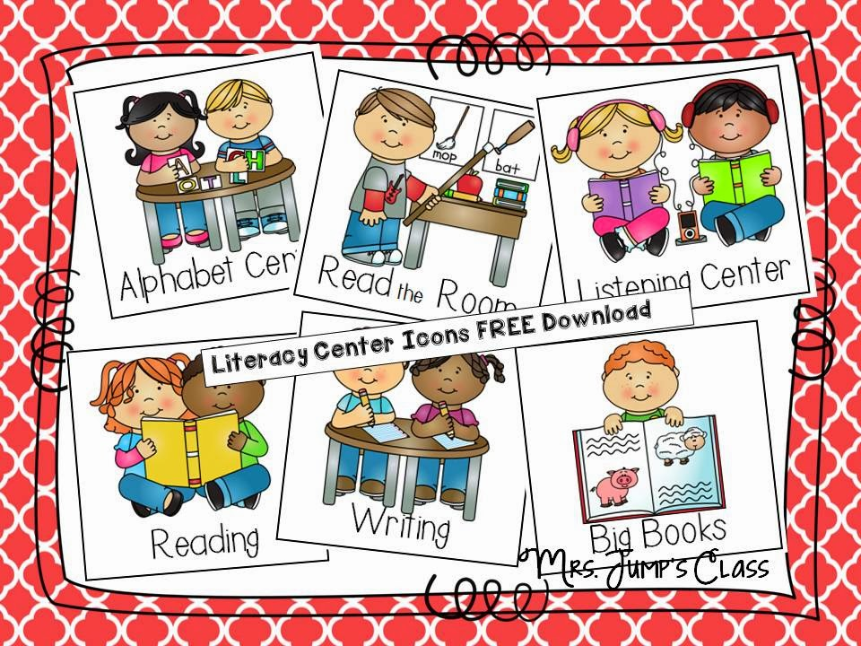What are the Other Kids Doing? {FREEBIE} Literacy Centers and Guided Reading