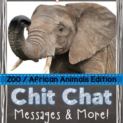 Chit Chat Messages,  Close Reading Passages & More!  Giveaway