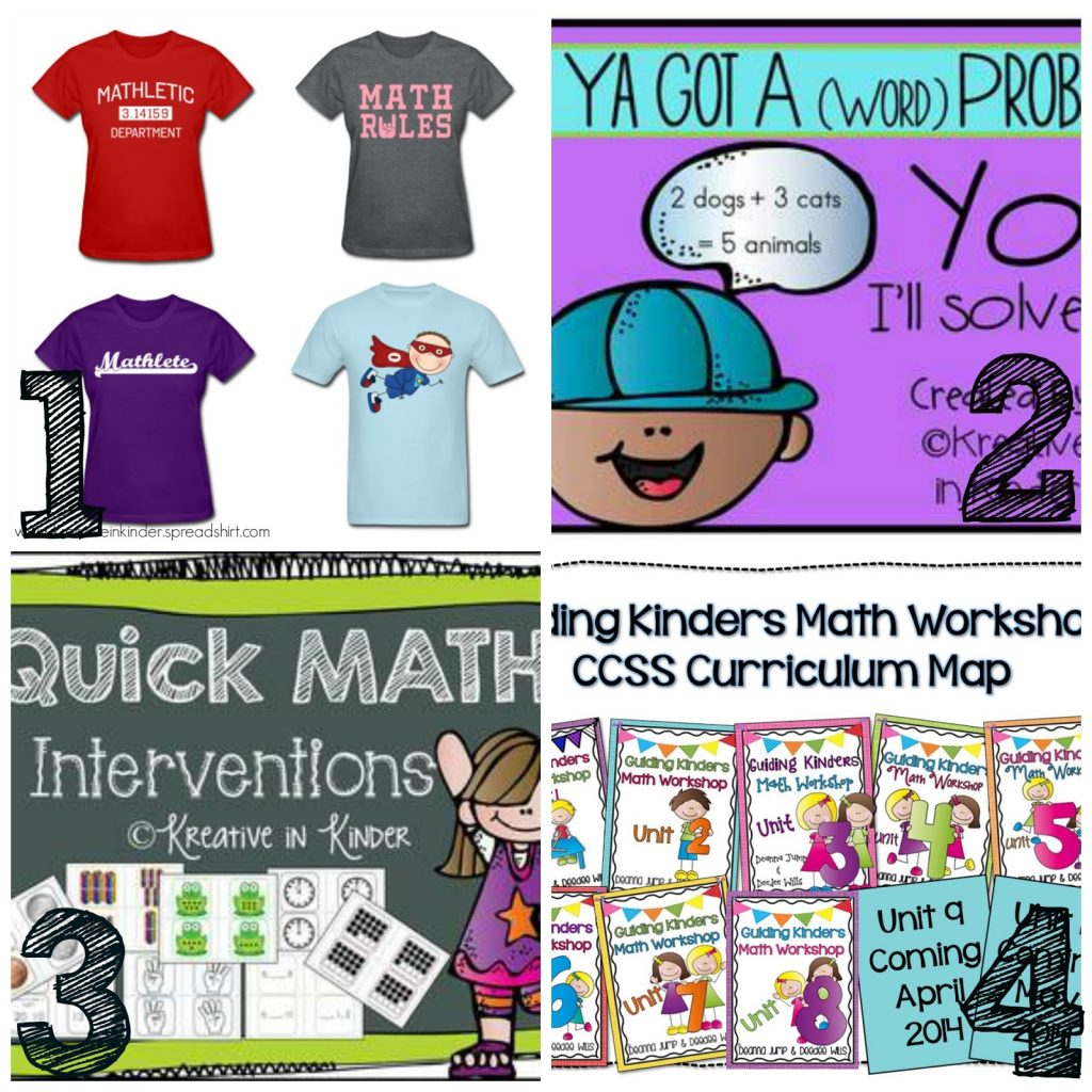 Mega Math Giveaway,  a Freebie and a Bonus!