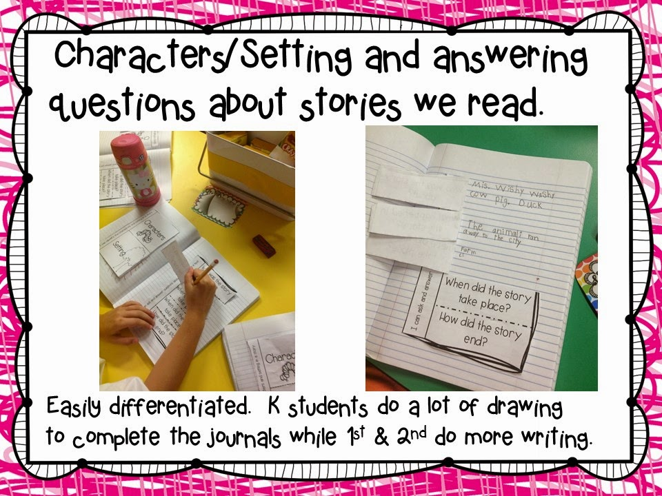 Interactive Reading Journals and Freebies!