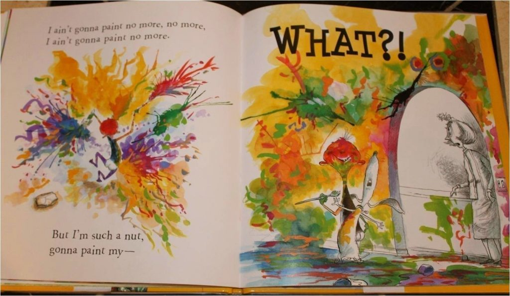 Book Talk Tuesday: I Ain't Gonna Paint No More!