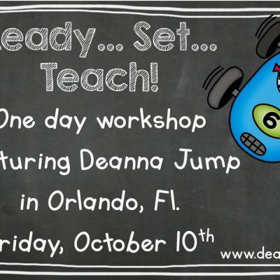 Ready, Set, Teach!