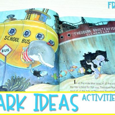It's Shark Week! Freebies for Comparing Informational & Narrative Texts
