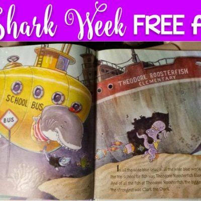 Book Talk Tuesday:  It's Shark Week!  Freebies for Back to school