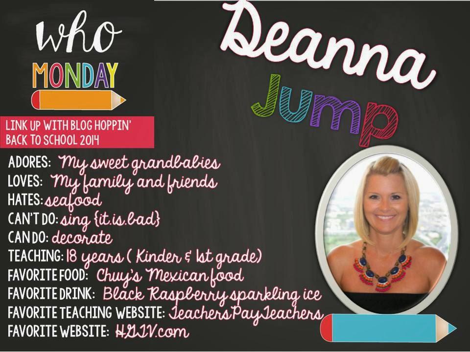 Teacher Week 2014:  Who Monday