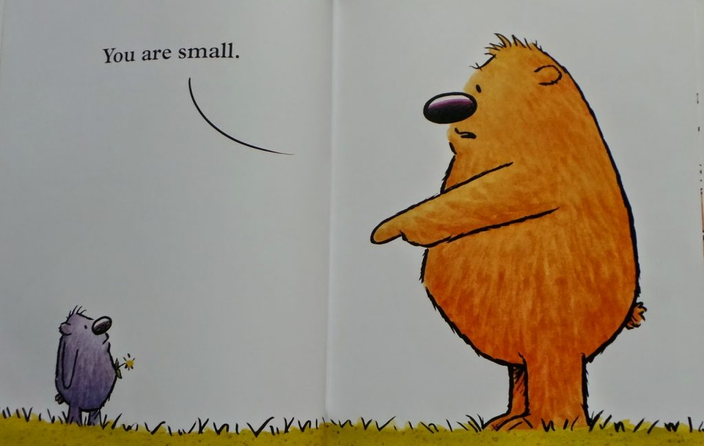 Book Talk Tuesday: You Are (NOT) Small