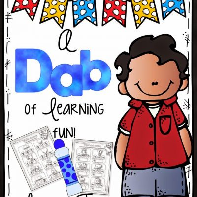 A Dab of Learning Fun  {FREEBIE}