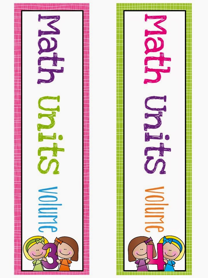 Covers for Math Binders