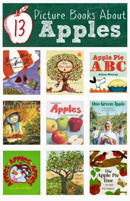 Book Talk Tuesday:  Books about Apples