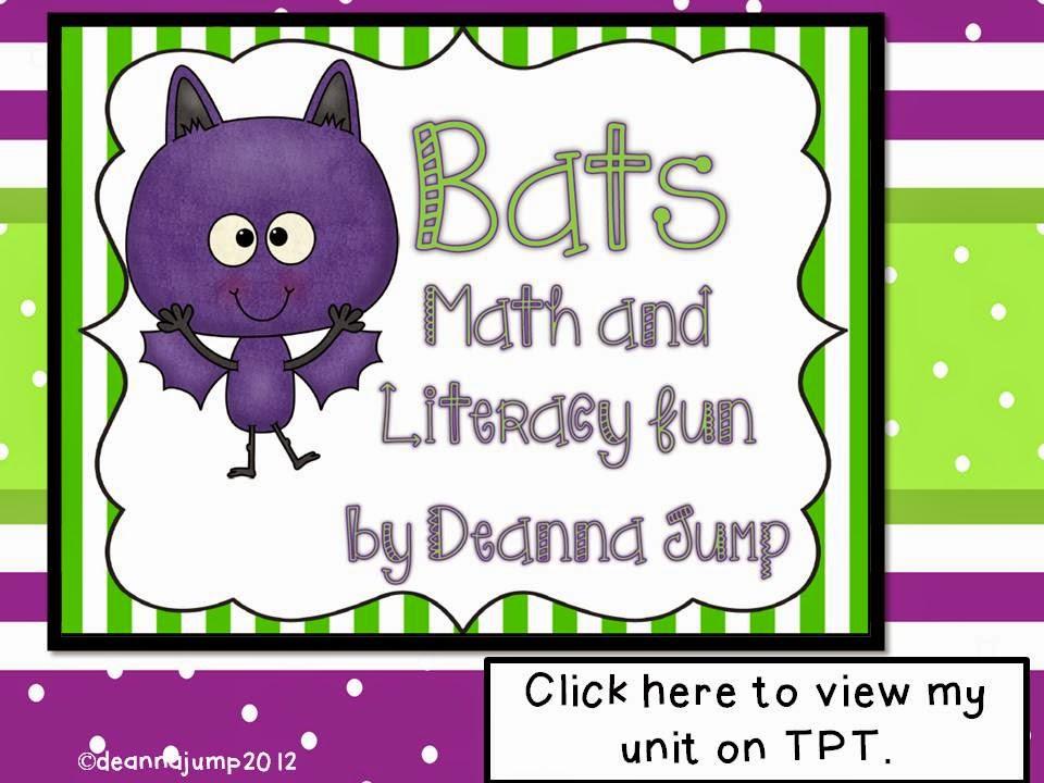 Bats Math and Literacy Fun