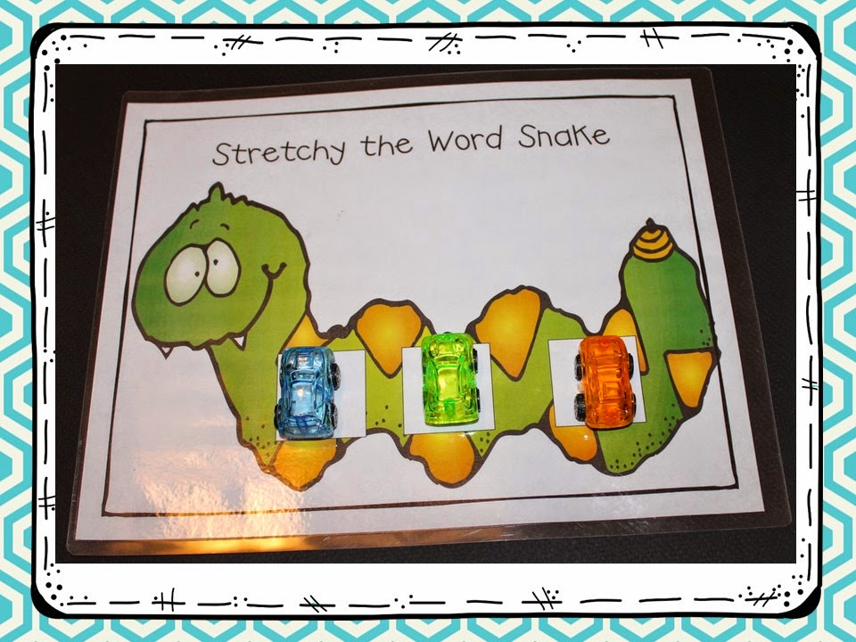 Phoneme Segmentation!  Make and Take Freebie and Book Talk Tuesday
