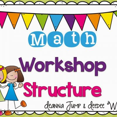 Math Workshop {handouts with FREEBIES}