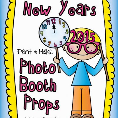 Happy New Year Photo Booth Props FREEBIE!!!