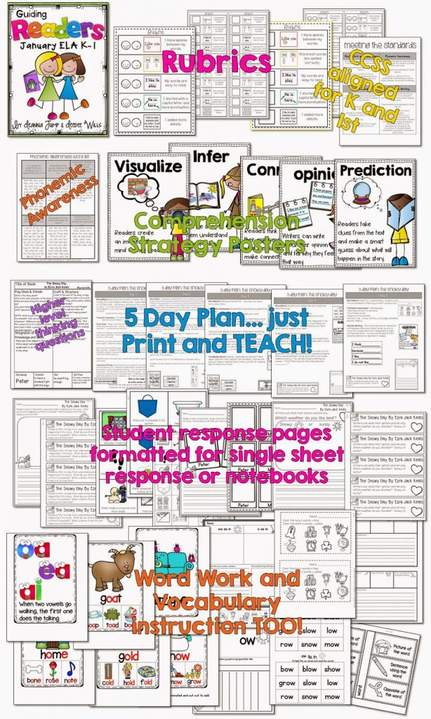 Guiding Readers: Just PRINT and TEACH!