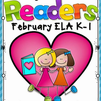 February Guiding Readers Organizational Tools