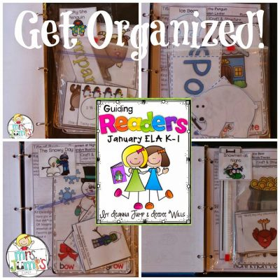 Guiding Readers January: Getting it ORGANIZED!