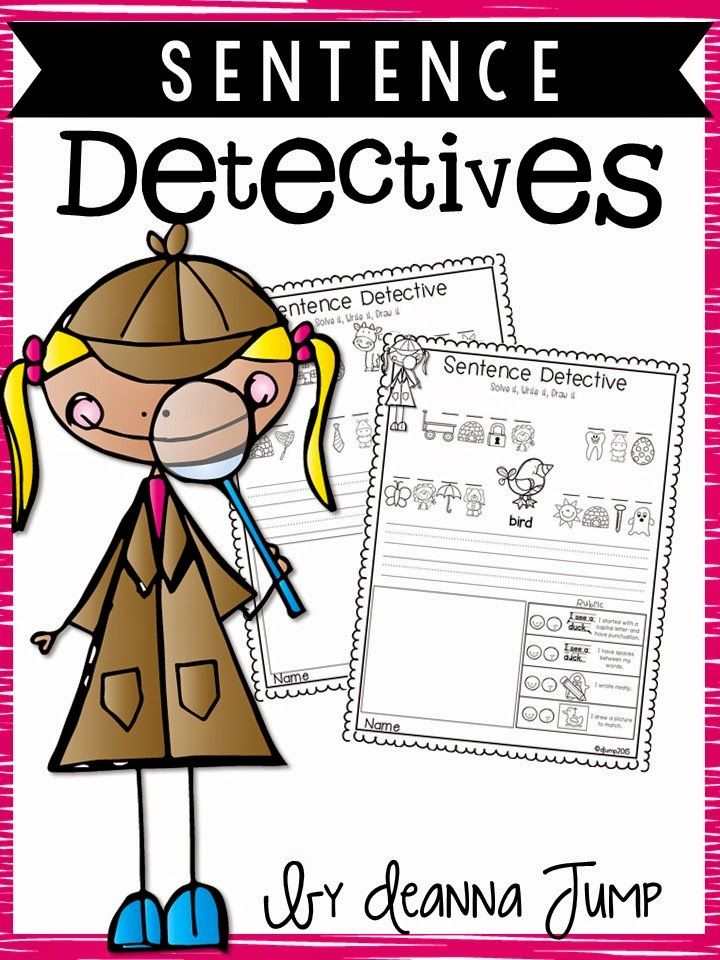 sentence detectives no prep reading and sight word fun freebie mrs jump 39 s class. Black Bedroom Furniture Sets. Home Design Ideas